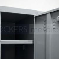 vista del interior del locker